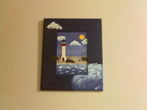 Jen's Lighthouse Painting