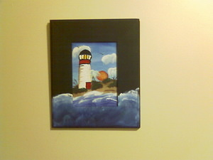 Neil's Lighthouse Painting