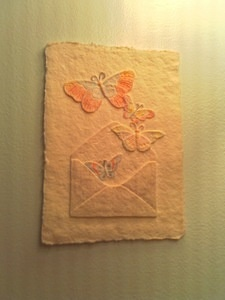 Pressed Cotton Butterflies