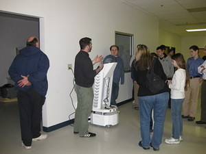 IEEE & SWE Tour of Mobile Robots 017