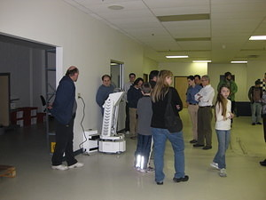 IEEE & SWE Tour of Mobile Robots 018