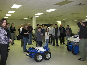 IEEE & SWE Tour of Mobile Robots 029