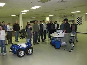 IEEE & SWE Tour of Mobile Robots 030