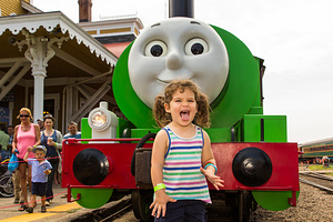 2017-07-22 - Thomas the Tank Engine Ride