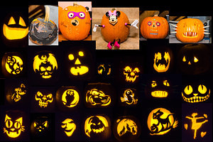 2017-10-28 - Pumpkin Carving Party