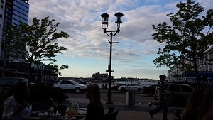Dinner in Boston Seaport - Beautiful View (June 2014)