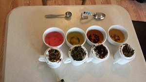 Tea Tasting with mom (November 2014)