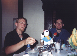 Brian, Snoopy, and Chris