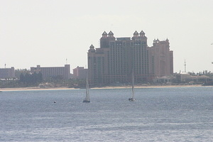 Atlantis Hotel from Afar
