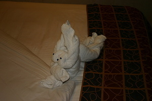 Rabbit Towel Animal