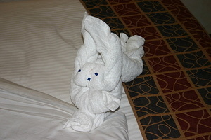 Rabbit Towel Animal 3