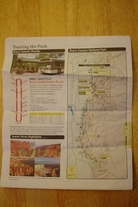 Bryce Canyon Map 4