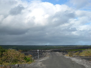 Lava Viewing Area Road 1