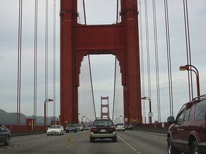 Driving Across the Golden Gate Bridge - 2