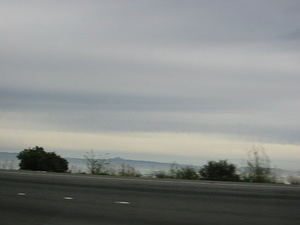 South San Francisco Mountains and Fog - 2