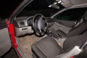 Interior, Driver's Side, Hole in Carpet, RS Seats