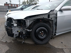 Totalled Camry